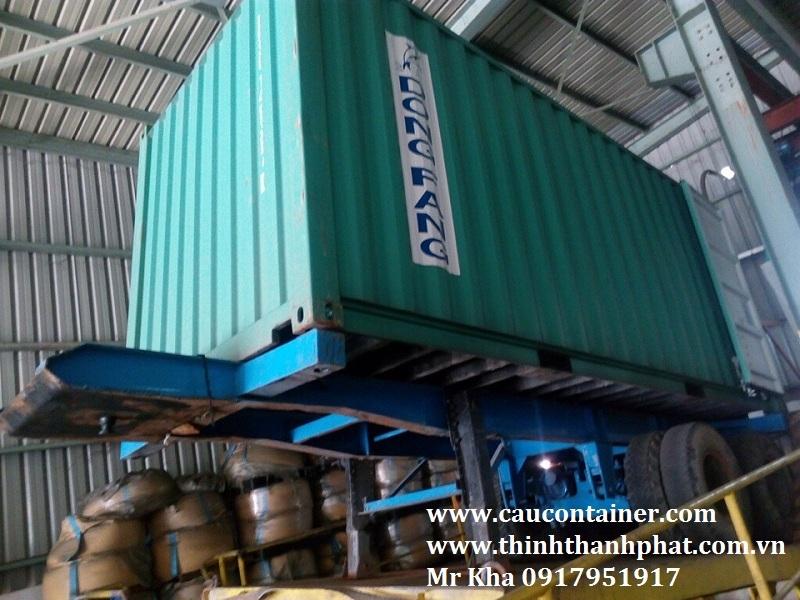 Bàn nâng container thủy lực
