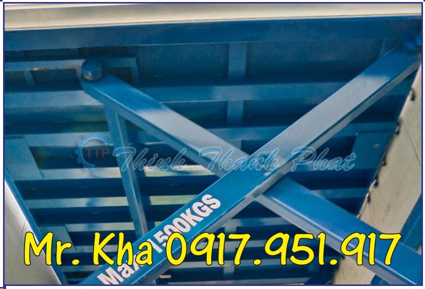 BÀN NÂNG THỦY LỰC 1500KG TTP-01