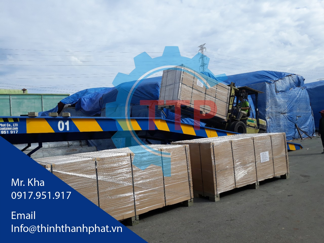 Cầu container TTP-01