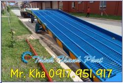 Cầu xe nâng container thép lưới Grating