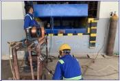 Lắp đặt hệ thống sàn nâng thủy lực tại Campuchia
