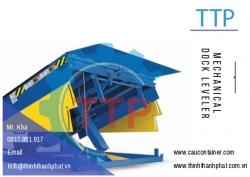 Sàn nâng cơ khí TTP - Mechanical dock leveler